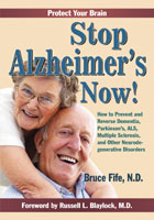 Stop Alzheimer's Now book cover